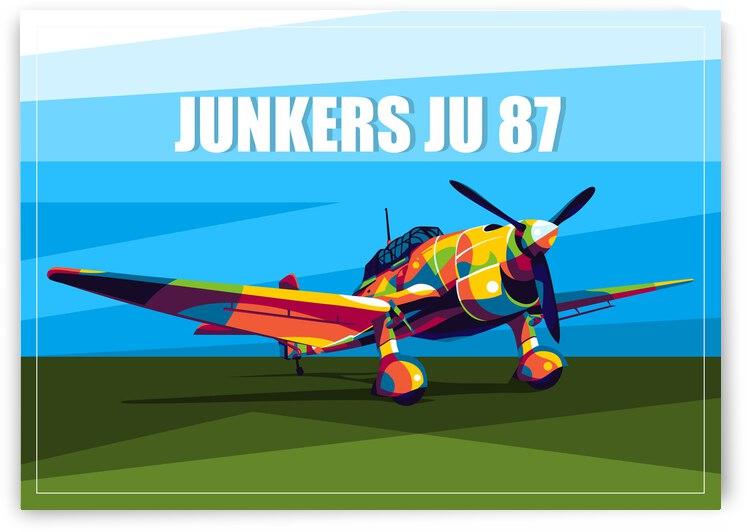 Junkers Ju-87 Dive Bomber by wpaprint