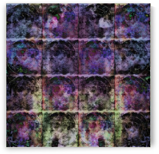 Purple Criss Cross Wings by Dorothy Berry-Lound