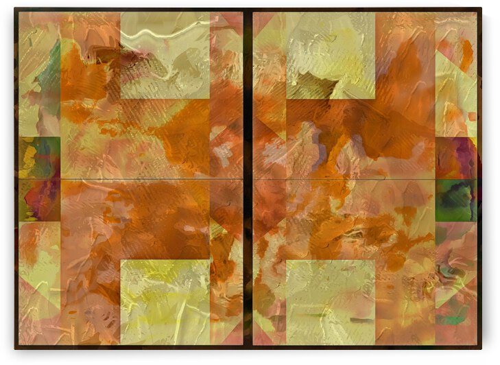 Earth Tones Geometry by Dorothy Berry-Lound