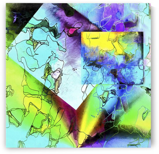Shapes in Abstract Meandering by Dorothy Berry-Lound