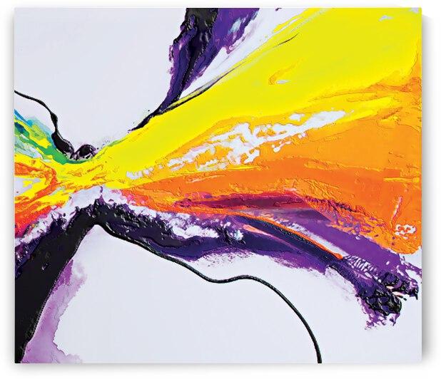 Abstract Art Britto QB295b by SIDINEI BRITO