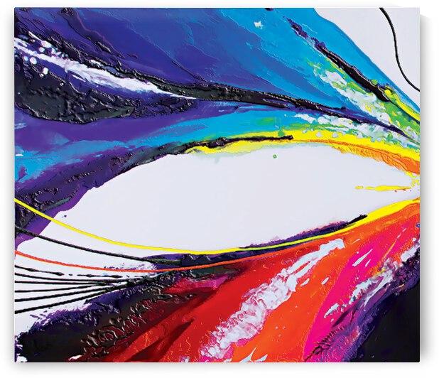 Abstract Art Britto QB295a by SIDINEI BRITO