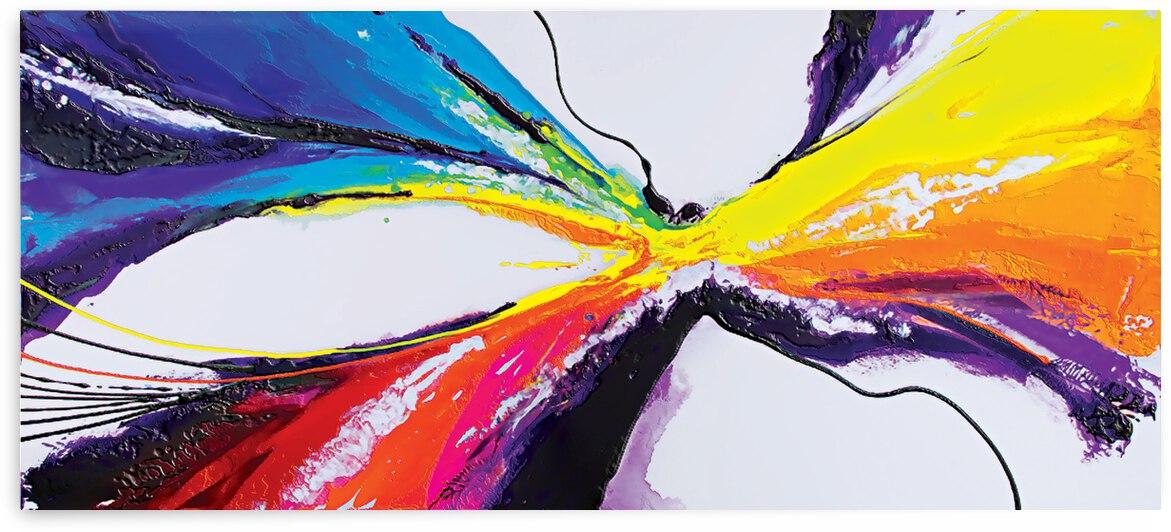 Abstract Art Britto QB295 by SIDINEI BRITO