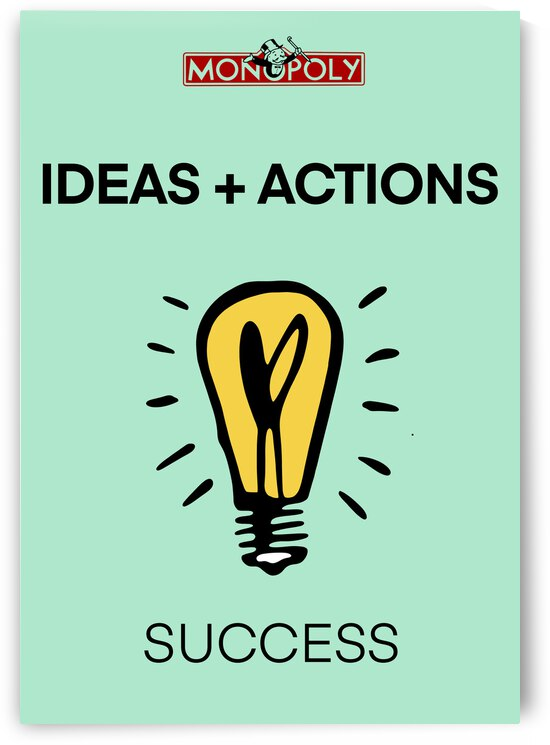 IDEAS + ACTIONS =  by Mike s ink