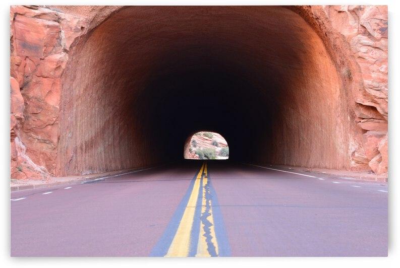 Tunnel Through Redrock  by PieLar Inspirations