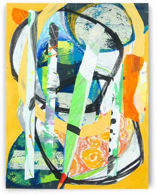 Abstract Simple Color IV by Daniella Broseghini
