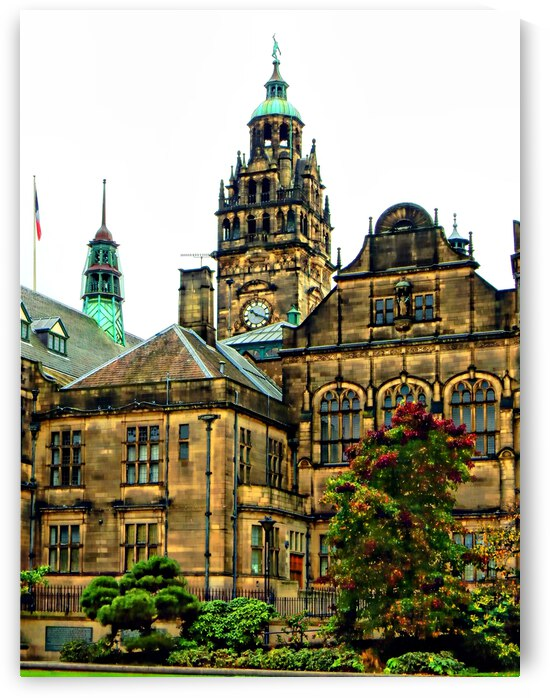 Sheffield Town Hall 4 by Dorothy Berry-Lound