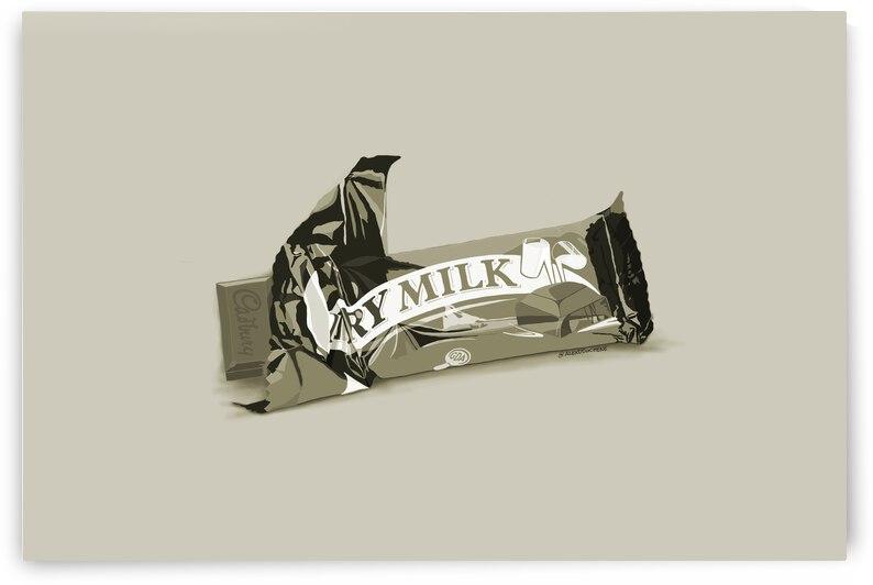 Dairy Milk vintage by Alex Duchene