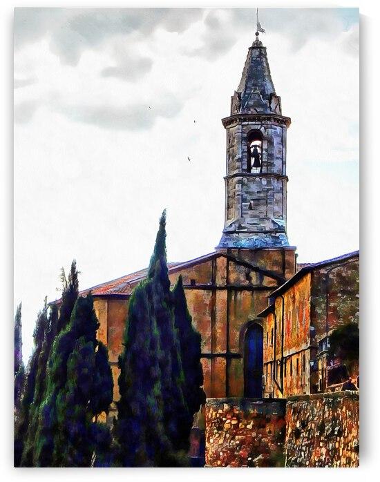 Chiesa S Giovanni Pienza by Dorothy Berry-Lound