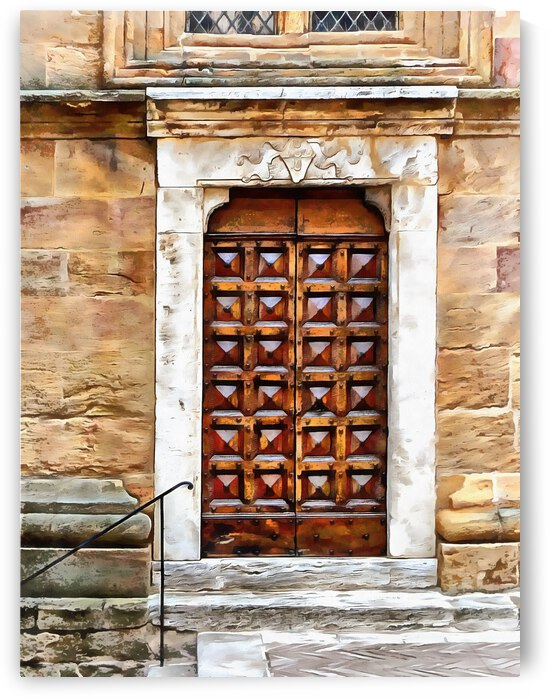 Church Door Chiesa S. Giovanni by Dorothy Berry-Lound