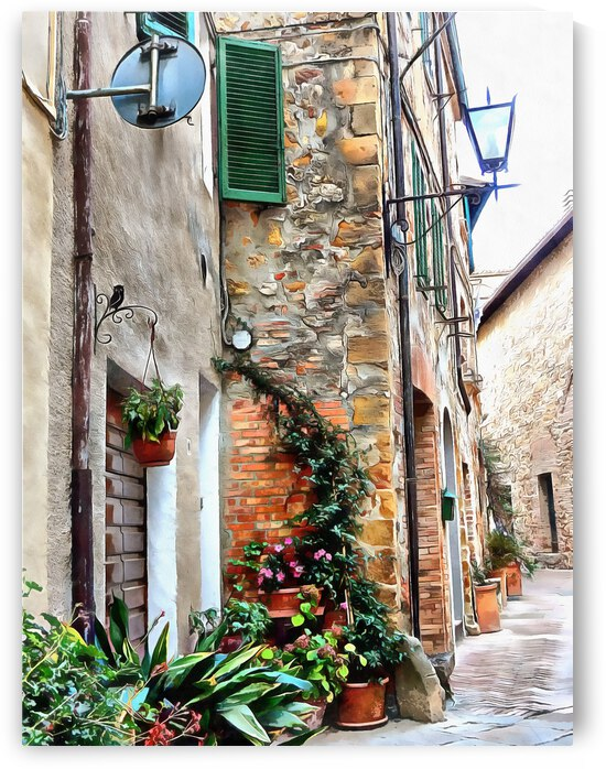 Making Good Use of Space Pienza by Dorothy Berry-Lound