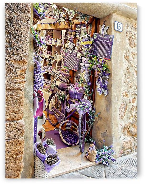 Lavender Shop Pienza by Dorothy Berry-Lound