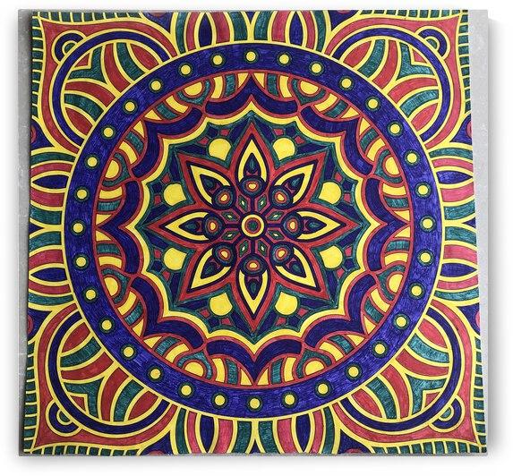 Mandala Art by Purvaa