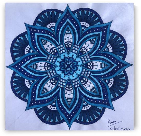 Mandala Blues by Purvaa