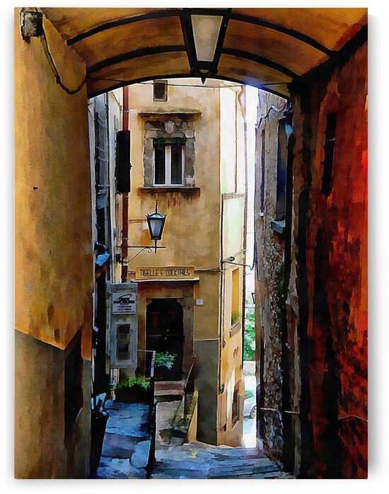 View Down The Passage Cortona by Dorothy Berry-Lound