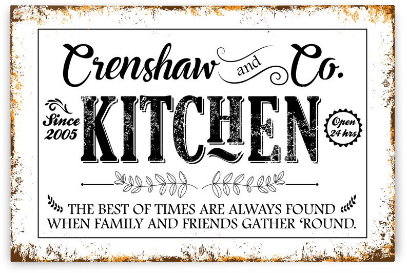 Crenshaw and CO KITCHEN 2005 by Snowy Mountain Traders