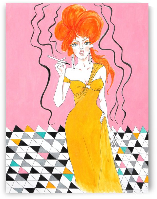 Sixties Redhead No. 2 by Jayne Somogy