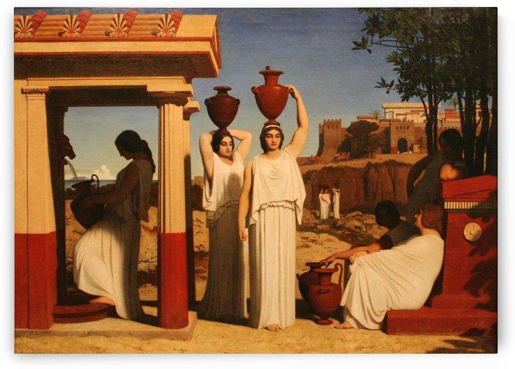 Femmes a la fontaine by Dominique Louis Ferreol Papety