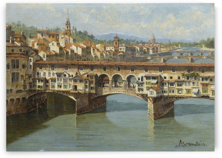 Ponte Vecchio, Florence by Antonietta Brandeis