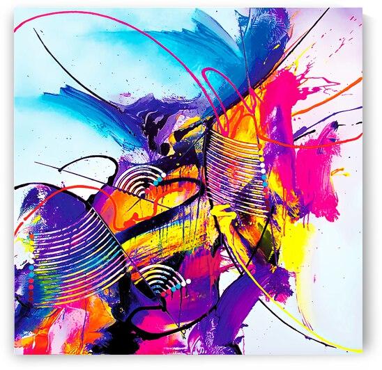 Abstract Art Britto QB293 by SIDINEI BRITO