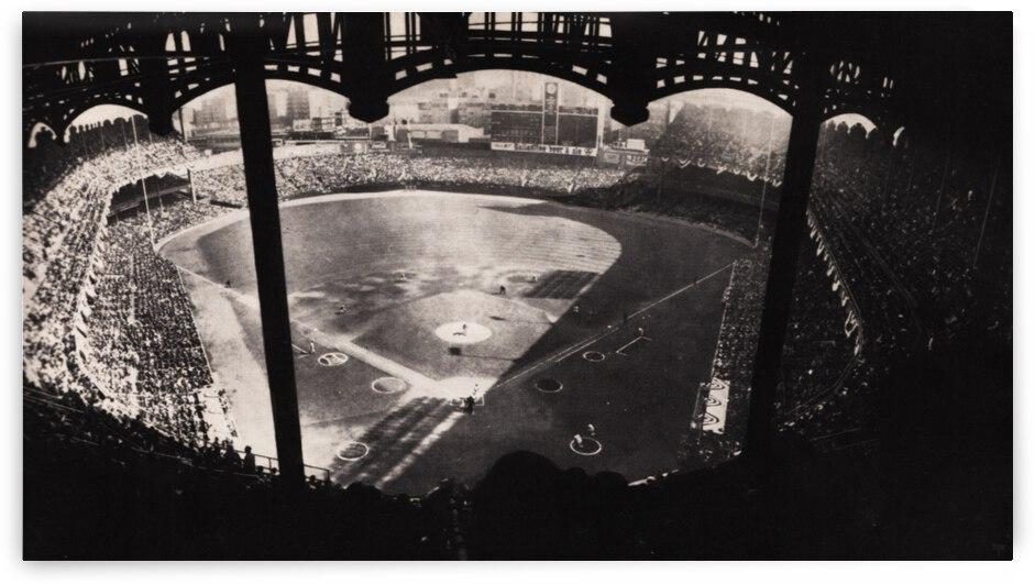 1963 Yankee Stadium Art by Row One Brand