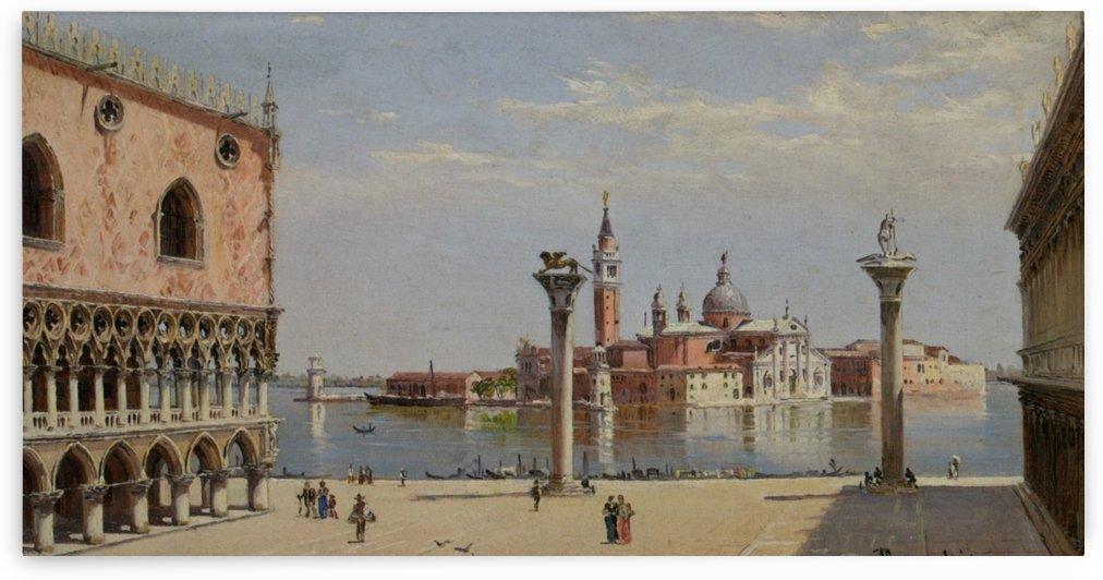 San Giorgio Maggiore, Venice by Antonietta Brandeis