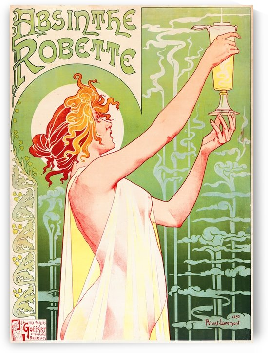 Absinthe by VINTAGE POSTER