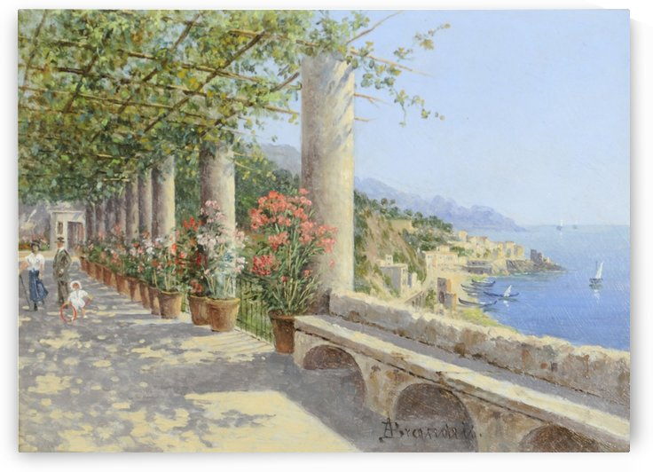 Amalfi by Antonietta Brandeis