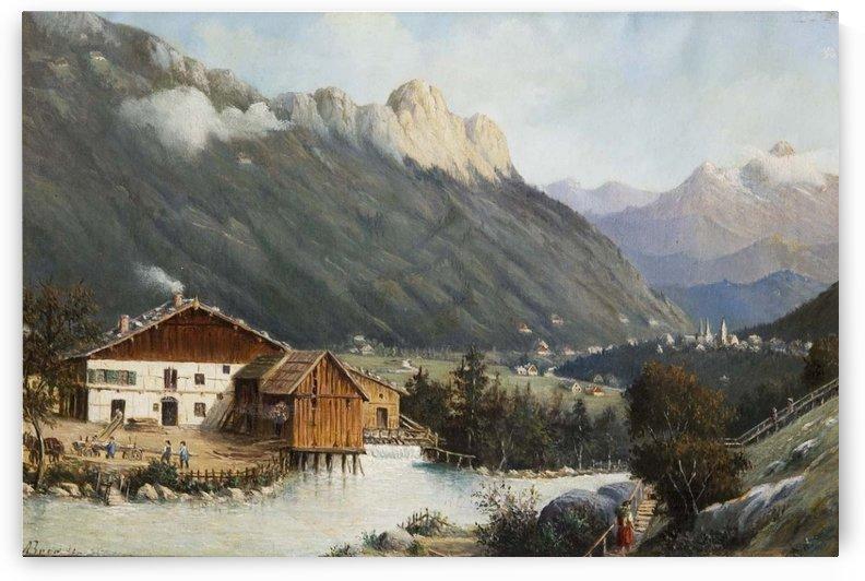 Berchtesgaden, 1889 by Antonietta Brandeis