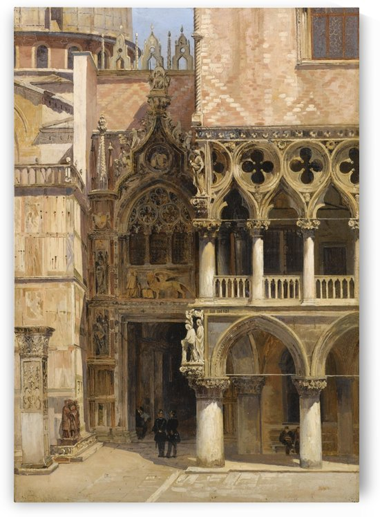 Porta della carta, 1886 by Antonietta Brandeis