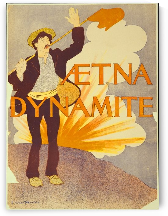 Aetna Dynamite by VINTAGE POSTER
