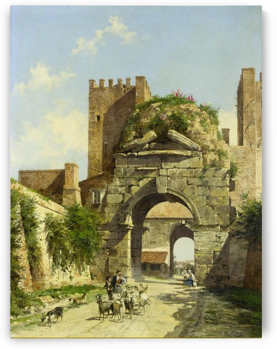 Arco di Druso, Rome by Antonietta Brandeis