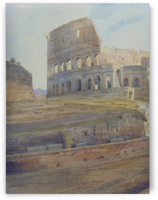 Colosseum by Antonietta Brandeis