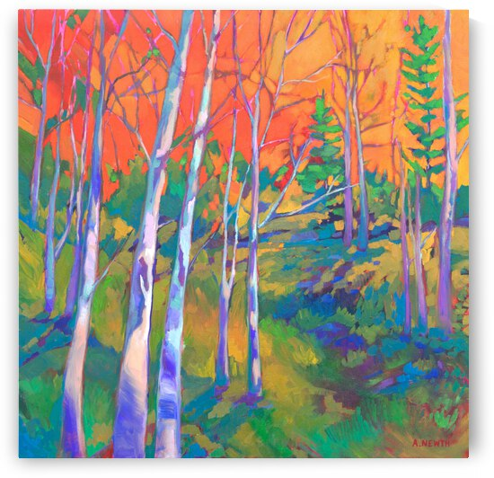 Autumn Foliage by Art by Alison Newth
