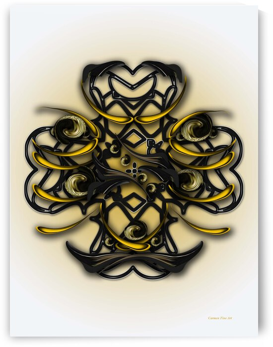 Meditative Poetry by Carmen Fine Art