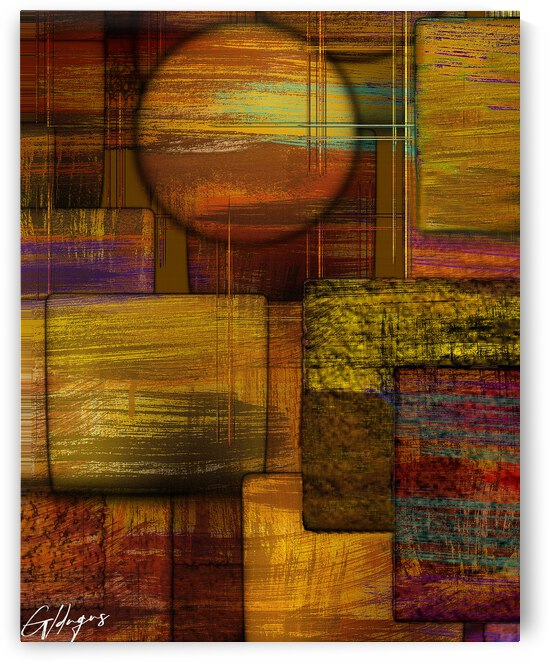 ABSTRACT-1510  Twilight by   Goldengenes