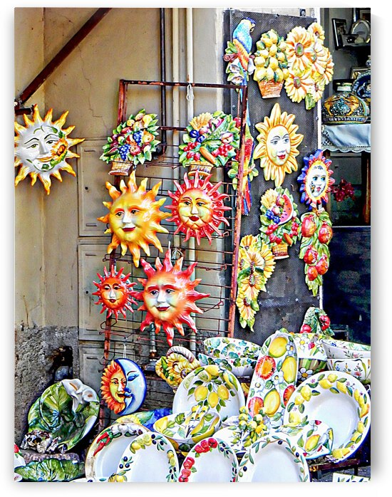 Sun Pottery and Ceramics Passignano by Dorothy Berry-Lound