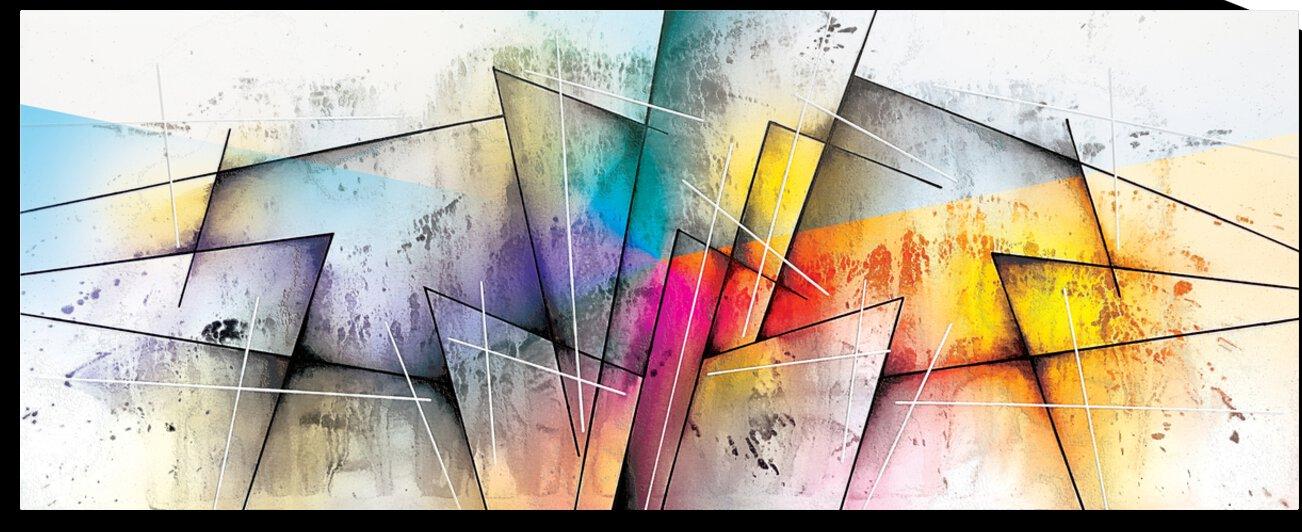 Abstract Art Britto QB303 by SIDINEI BRITO