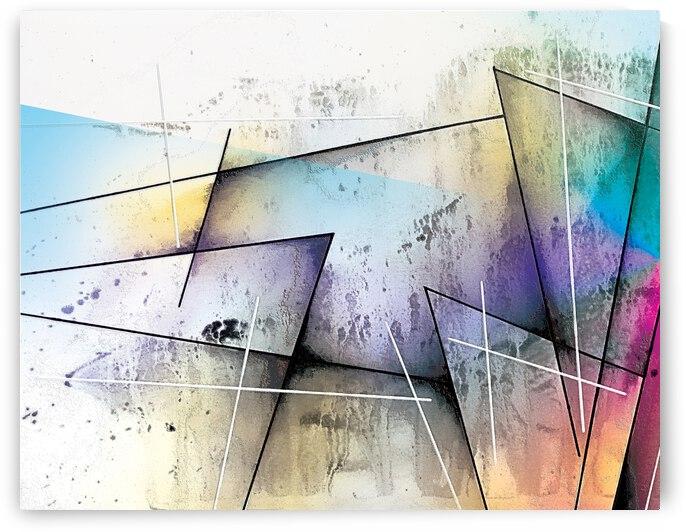 Abstract Art Britto QB303A by SIDINEI BRITO