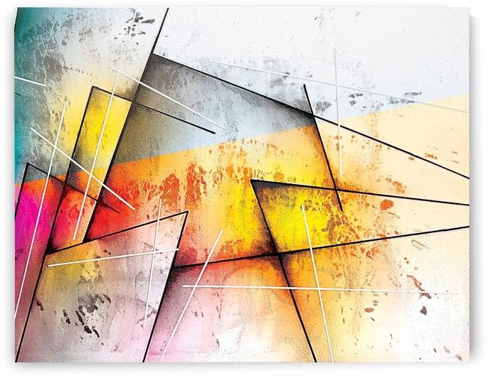 Abstract Art Britto QB303B by SIDINEI BRITO