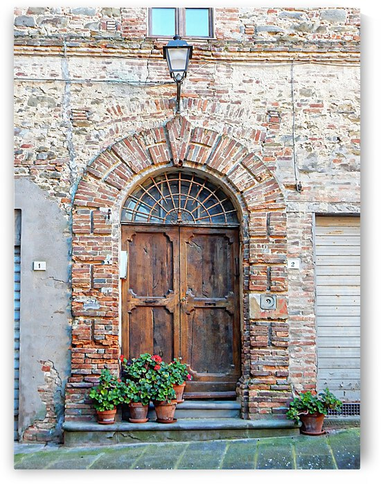 Picturesque Doorway Panicale by Dorothy Berry-Lound