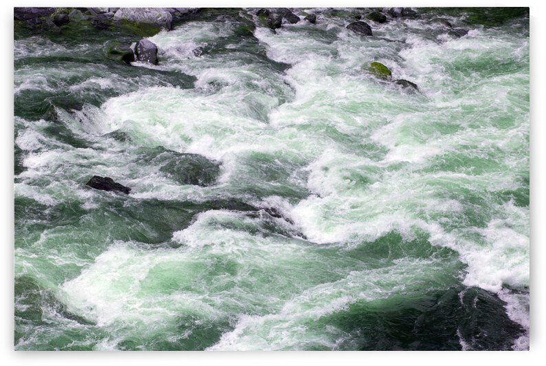 River Rapids in Spring by Evan Petty Photography