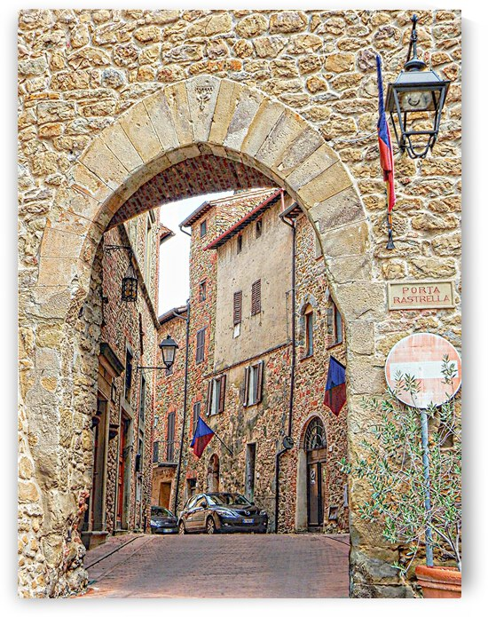 Porto Rastrella Paciano Umbria by Dorothy Berry-Lound