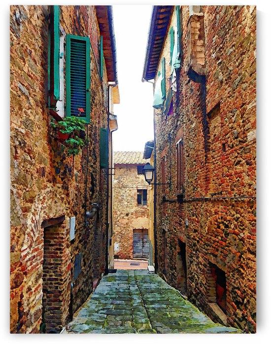 Via della Mercantia Paciano by Dorothy Berry-Lound