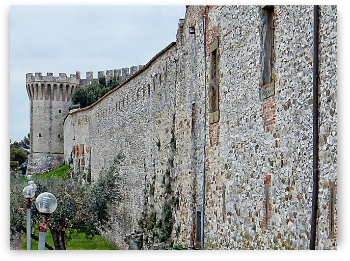 Town Walls with Turret by Dorothy Berry-Lound