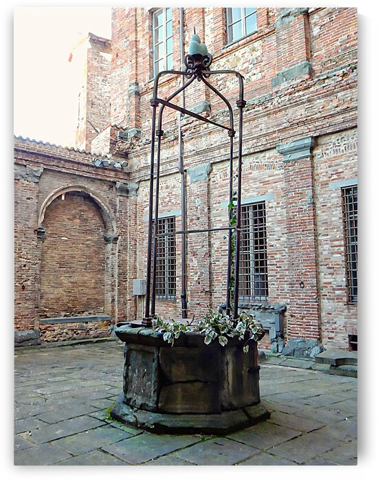 The Old Well Citta della Pieve by Dorothy Berry-Lound