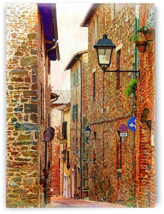 Via Nicola Danzetta Paciano 4 by Dorothy Berry-Lound