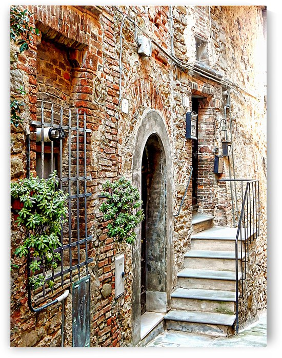 View to the Entrance Panicale by Dorothy Berry-Lound