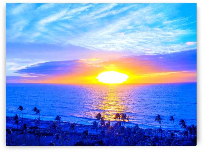 Rainbow Sunset in the Tropics   Hawaii by 360 Studios