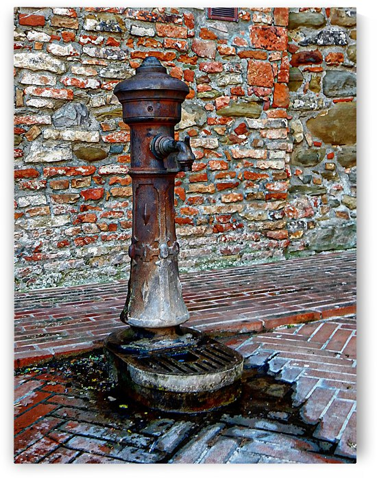 Water Station Panicale by Dorothy Berry-Lound